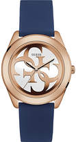 GUESS W0911L6 G Twist gold-plated and silicone watch
