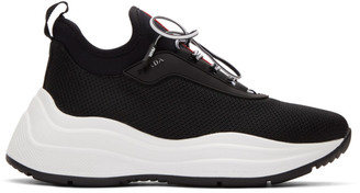Prada Black Chunky Sneakers