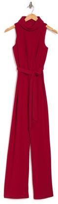 Marina Cowl Neck Waist Tie Jumpsuit