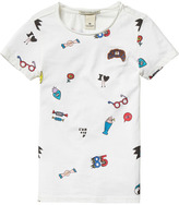Scotch & Soda Pop Art T-Shirt