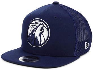 New Era Minnesota Timberwolves Dub Fresh Trucker 9FIFTY Snapback Cap