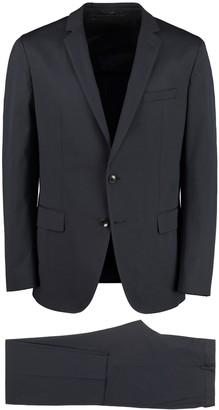 HUGO BOSS Stretch Cotton Two Piece Suit