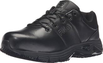 Fila Men's Memory Breach Work Slip Resistant Steel Toe Low Walking Shoe