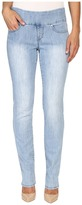 Jag Jeans Peri Pull-On Straight Comfort Denim Jeans in Southern Sky