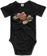 Enlove Neil Young BABY Funny Short Sleeves Variety Baby Onesies Jumpsuit For Toddler
