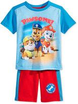 Nannette 2-Pc. Paw Patrol T-Shirt & Shorts Set, Toddler (2T-4T)