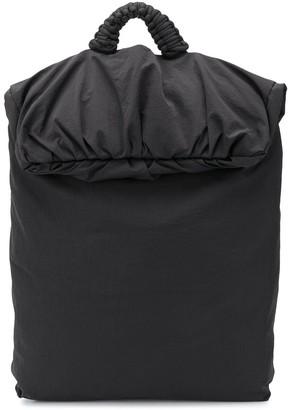 Bottega Veneta Oversized Nylon Backpack
