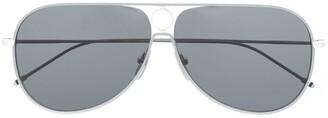Thom Browne TBS115 aviator-frame sunglasses