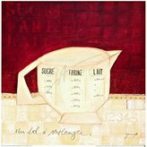 1art1® Posters: Sandrine Gayet Poster Art Print - Mixing Bowl (12 x 12 inches)