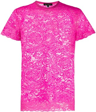 Versace Lace Night T-Shirt