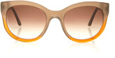 Thierry Lasry Party Acetate Round-Frame Sunglasses
