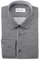 Robert Graham Black Chico Striped Dress Shirt