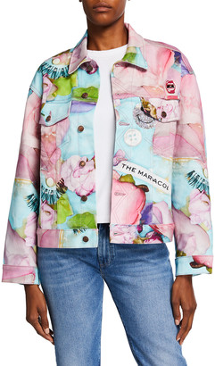 Marc Jacobs Maisie Cousins x The Oversized Denim Jacket