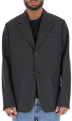Prada Oversize Pinstriped Blazer