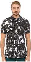 HUGO Empson - Short Sleeve Palm Print