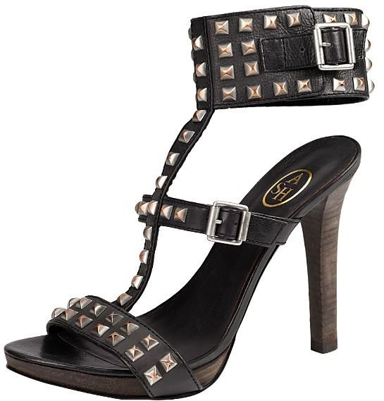 Ophelia Ash High Heel Studded Sandals