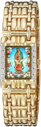 EWatchFactory Women's EW Guadalupe Analog-Quartz Watch with Alloy Strap