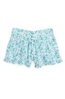 Splendid Girl's Floral Print Shorts