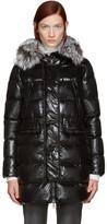 Moncler Black Down Aphroditi Coat