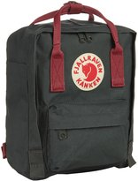Fjäll Räven Kanken Mini Backpack - Forest Green/Ox Red - One Size
