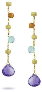 Marco Bicego Paradise Long Mixed-Stone Drop Earrings