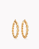 Chico's Raven Hoop Earrings