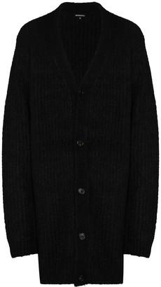 Ann Demeulemeester V-neck chunky knit cardigan