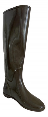 Georges Rech Brown Rubber Boots