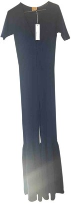 Circus Hotel Blue Cashmere Jumpsuit for Women