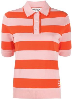 Essentiel Antwerp Striped Polo Shirt