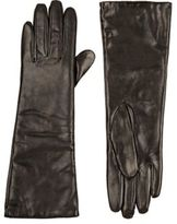 Barneys New York WOMEN'S TOUCHSCREEN-COMPATIBLE LONG GLOVES-BLACK SIZE NA