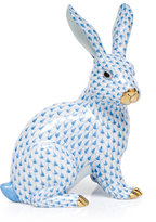 Herend Large Sitting Bunny Figurine
