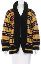 Jean Paul Gaultier Virgin Wool Plaid Coat