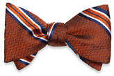 Brooks Brothers Framed Stripe Bow Tie