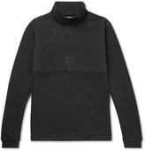 Folk Panelled Cotton-Jersey Sweatshirt