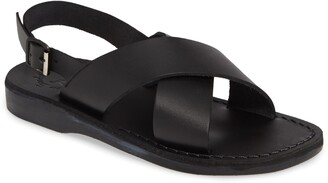 Jerusalem Sandals Jeruselum Sandals Elan Buckle Slingback Sandal