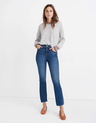 Madewell Petite Cali Demi-Boot Jeans in Columbus Wash: Comfort Stretch Edition
