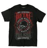 Metal Mulisha Mens West T Shirt Black XXX Large