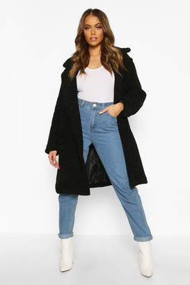 boohoo Premium Teddy Fur Coat