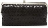 Hobo Lauren Laser Cut Leather Wallet
