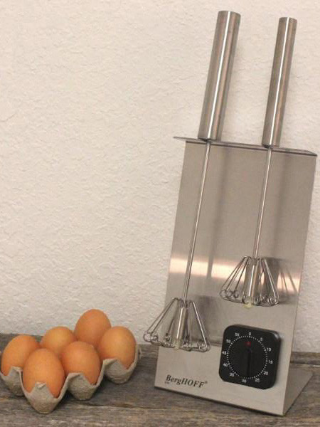Thumbnail for your product : Berghoff SS Magic Whisk & Timer Set Silver