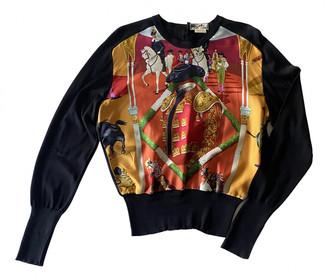 Hermes Black Silk Knitwear