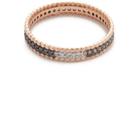 Kismet by Milka 14k Gold Tricolor Diamond Eternity Ring
