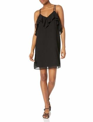 BCBGeneration Women's Ruffled Mini Dress