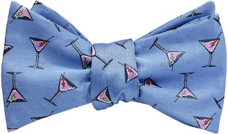 OCIA Mens Designer Self Bow Tie Pattern Woven Bowtie (OCIANEWSF1204-15)