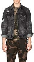 Ovadia & Sons Men's Distressed Denim Jacket
