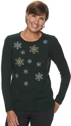 Croft & Barrow Women's Holiday Sweater
