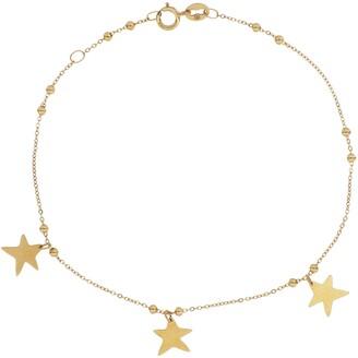 Bony Levy 14K Gold Star Charm Bracelet