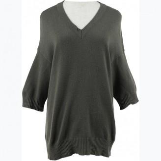Marni Khaki Cashmere Knitwear