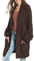 Leith Women's Blouson Sleeve Cardigan